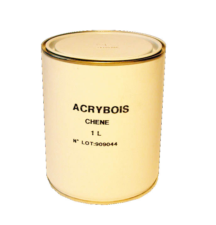 Acrybois lasure en 1l protection de la ruche for Peindre du bois lasure